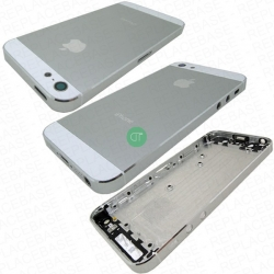 BACK COVER CASE PER IPHONE 5 BIANCO