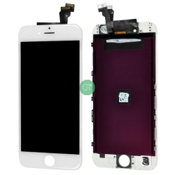 LCD PER IPHONE 6 PLUS BIANCO ORIGINALE RIGENERATO