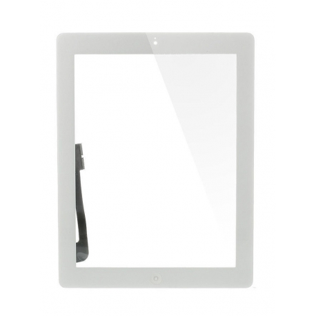 VETRO TOUCH SCREEN PER IPAD 3 (BIANCO)