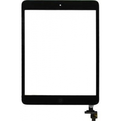 TOUCH SCREEN IPAD MINI - MINI 2 NERO CON TASTO HOME BIADESIVO ED IC TOUCH