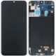 DISPLAY LCD ORIGINALE SAMSUNG A50 SM-A505F CON FRAME NERO TOUCH SCREEN