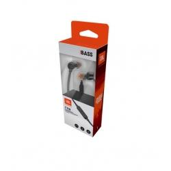 JBL T110 Intra-Auricolare Con Comando Microfono Universale Jack 3,5 mm