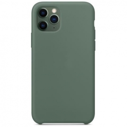 CUSTODIA IN SILICONE COVER PER IPHONE 11 PRO VERDE
