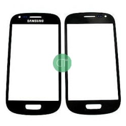 VETRO VETRINO GALAXY S3 MINI NERO I8190