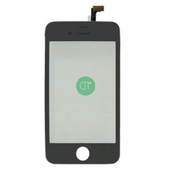 VETRO TOUCH SCREEN PER IPHONE 4 NERO