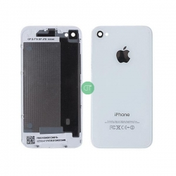 BACK COVER PER IPHONE 4 BIANCO