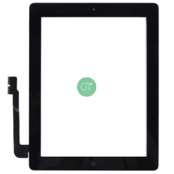 VETRO TOUCH SCREEN PER IPAD 3 (NERO)