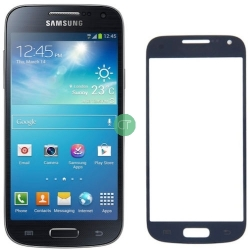 VETRO VETRINO GALAXY S4 MINI BLUE I9195 I9190