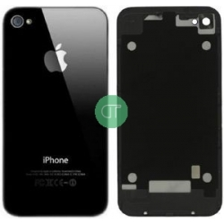 BACK COVER PER IPHONE 4S NERO